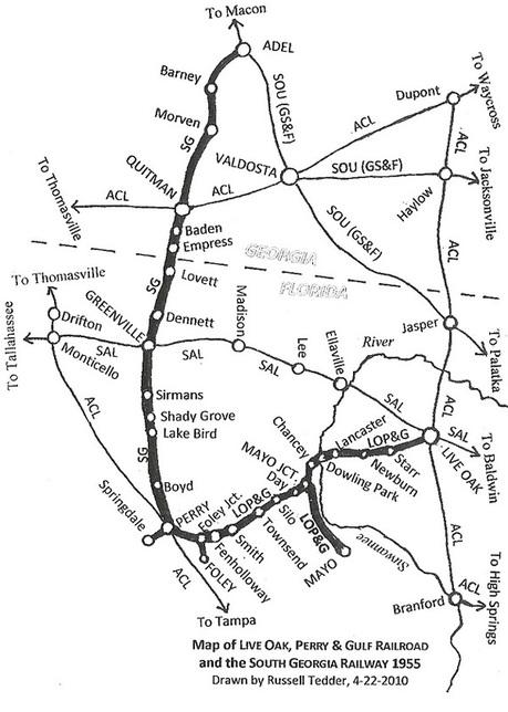 hawkinsrails live oak perry gulf Vintage Gulf Gas Station lopg map