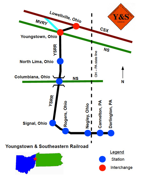 HawkinsRails - Youngstown & Southeastern on thunder road map, new phila map, south vienna map, sewickley township map, masury map, blacklick map, spokane coeur d'alene map, rhode island area map, west carrollton city map, north baltimore map, weathersfield township map, new wilmington map, town line map, mount gilead map, pickerington map, eastern wv map, mineral ridge map, hunting valley map, new baltimore map, gates mills map,